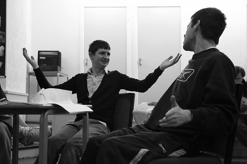 Photo: Beyond The 4th Wall Rehearsals (4th-7th March 2013)