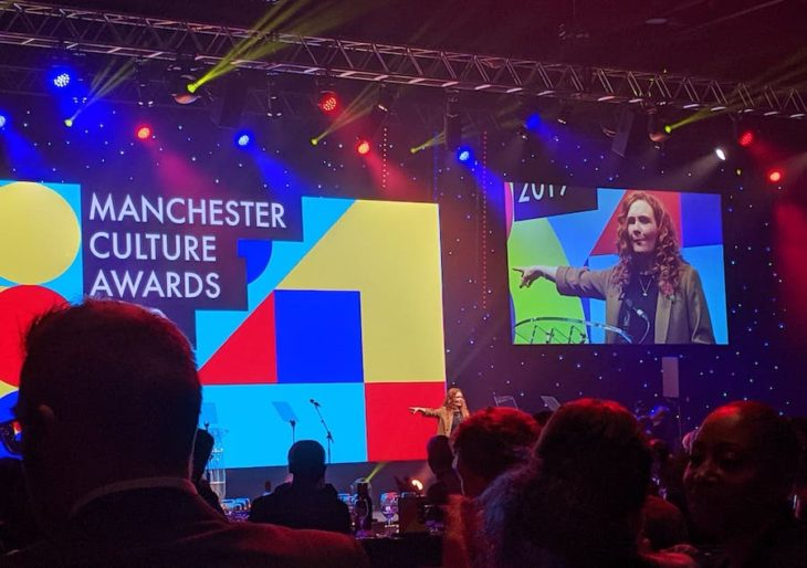 Photo: Nominated for the Manchester Cultural Awards 2019